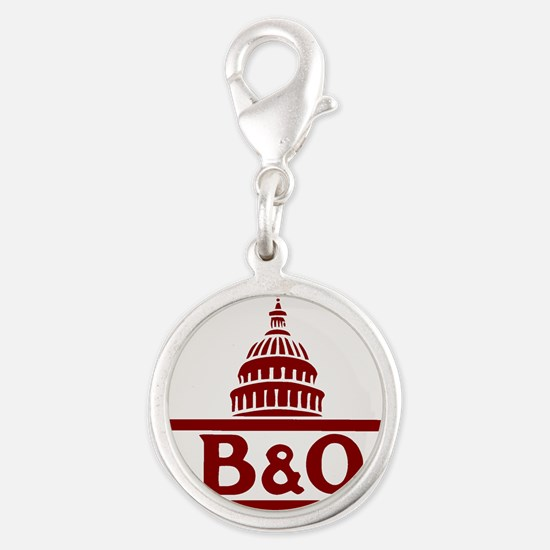 B&O railroad design Charms