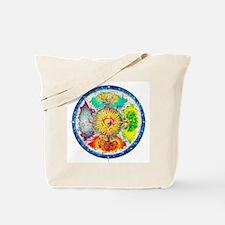 Four Seasons Mandala Tote Bag