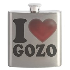 I Heart Gozo Flask