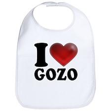 I Heart Gozo Bib