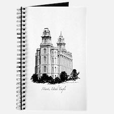 Manti, Utah Temple Journal