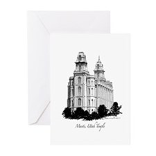 Manti, Utah Temple Greeting Cards (Pk of 10)