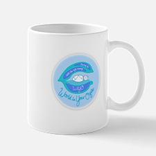 WiYO Blue Logo Mug