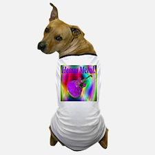 Heavy Metal Purple Coral Guit Dog T-Shirt