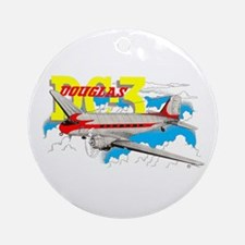 DOUGLAS DC-3 Ornament (Round)
