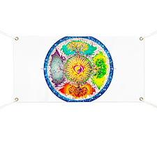 Four Seasons Mandala Banner