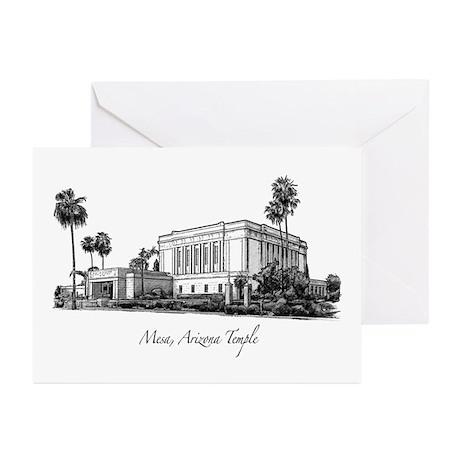 Mesa, Arizona Temple Greeting Cards (Pk of 10)