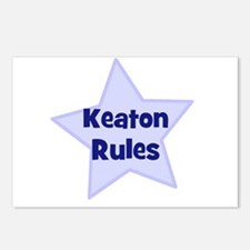 Keaton Rules Postcards (Package of 8)