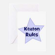 Keaton Rules Greeting Cards (Pk of 10)