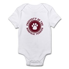 Norfolk Terrier Infant Bodysuit