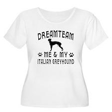 Italian Greyhound Dog Designs T-Shirt