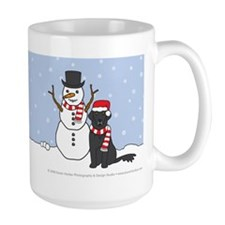 Flat-Coated Retriever Holiday Mug