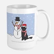 Flat-Coated Retriever Holiday Mug
