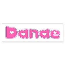 """""""Danae"""" Bumper Bumper Sticker"""