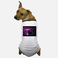 Purple Thunder Dog T-Shirt