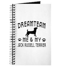 Jack Russell Terrier Dog Designs Journal