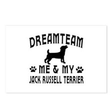 Jack Russell Terrier Dog Designs Postcards (Packag