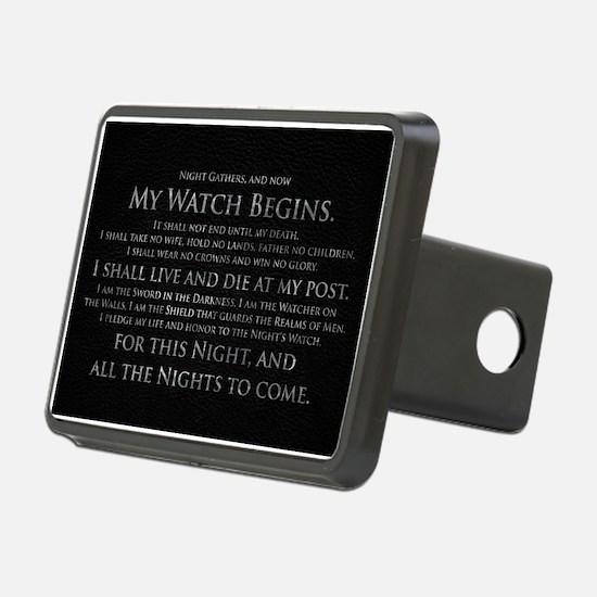 GOT NIGHT'S WATCH OATH Hitch Cover