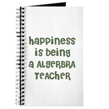 Happiness is being a ALGERBRA Journal