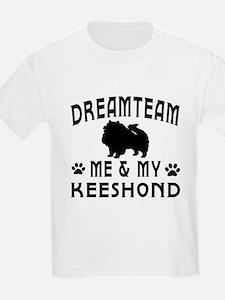 Keeshond Dog Designs T-Shirt