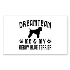 Kerry Blue Terrier Dog Designs Decal