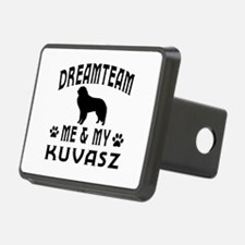 Kuvasz Dog Designs Hitch Cover