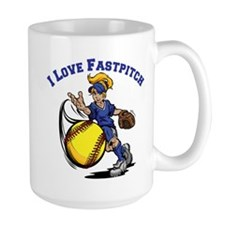 Love Fastpitch Mug