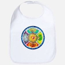 Four Seasons Mandala Bib