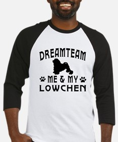 Lowchen Dog Designs Baseball Jersey