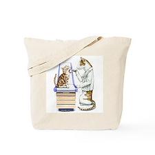 Doctor Cat Tote Bag