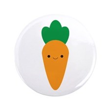 "Carrot 3.5"" Button (100 pack)"