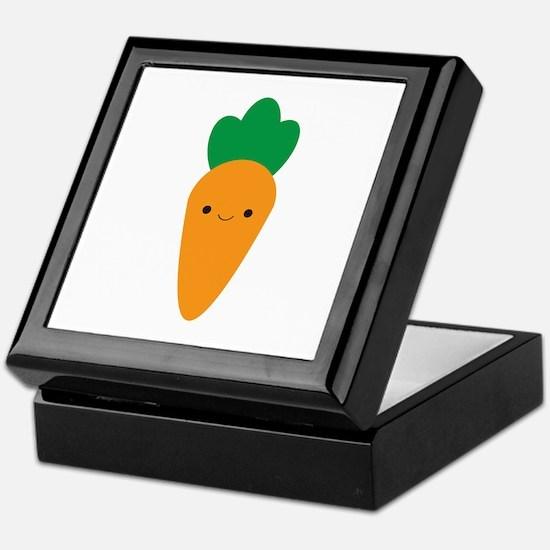 Carrot Keepsake Box