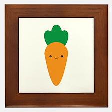 Carrot Framed Tile