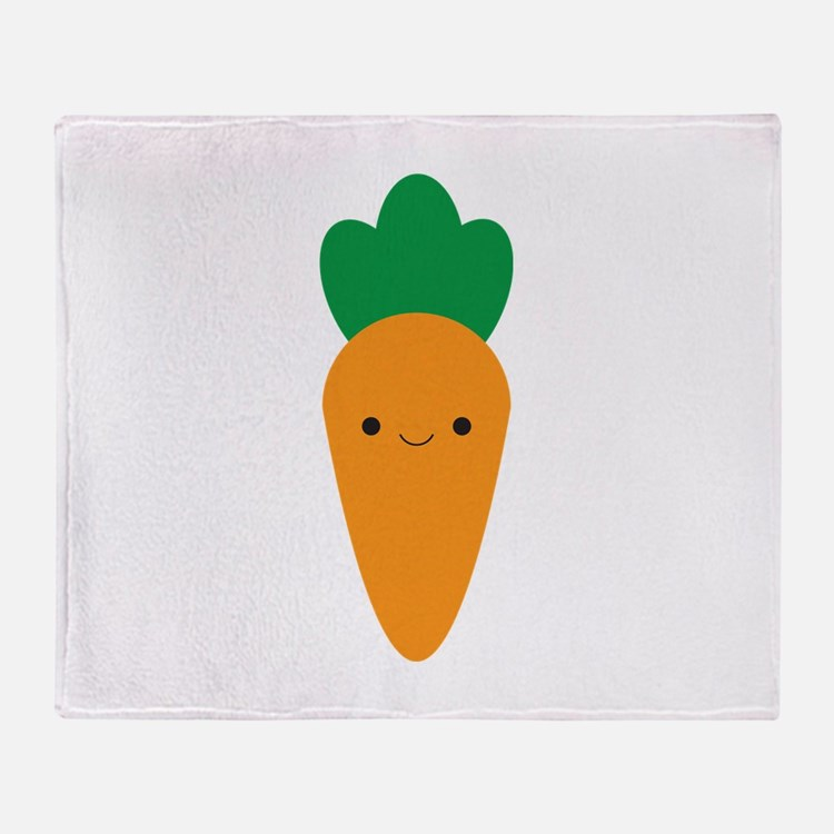 Carrot Throw Blanket