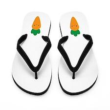 Carrot Flip Flops