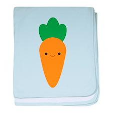 Carrot baby blanket