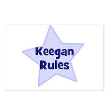 Keegan Rules Postcards (Package of 8)