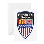 Santa Fe Police Greeting Cards (Pk of 10)