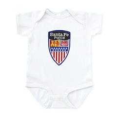 Santa Fe Police Infant Bodysuit