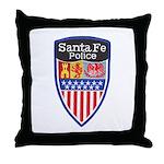 Santa Fe Police Throw Pillow