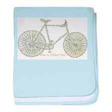 Ride to FIGHT MS! baby blanket