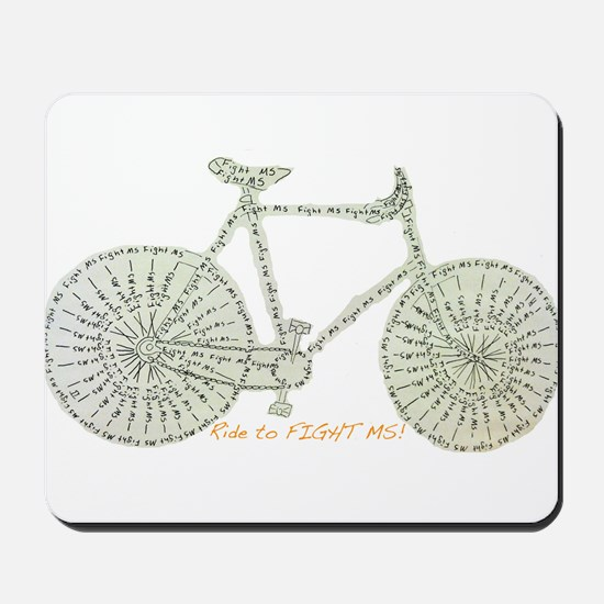 Ride to FIGHT MS! Mousepad
