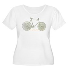 Ride to FIGHT MS! Plus Size T-Shirt