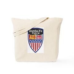 Santa Fe Police Tote Bag