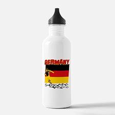 soccer player designs Water Bottle