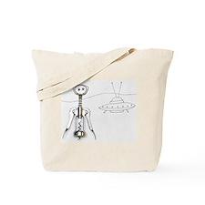Alien corkscrew Tote Bag