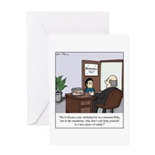 Ritalin bowl Greeting Cards