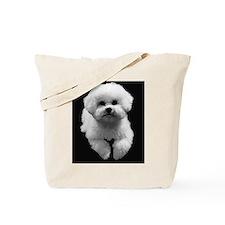 Beau in Black Tote Bag