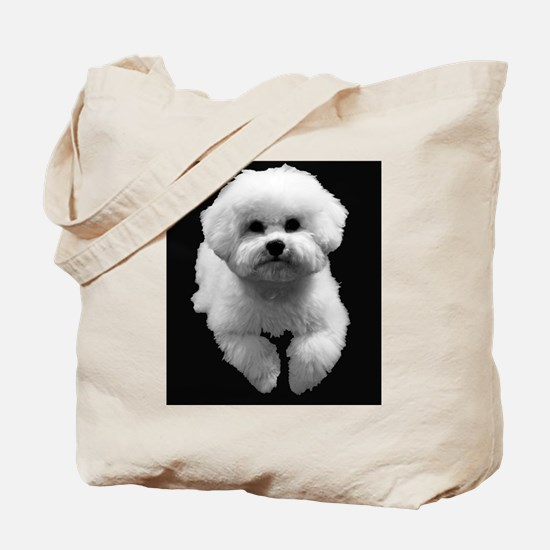 Beau in Black Tote Bag