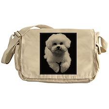 Beau in Black Messenger Bag